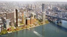 Plano Maestro de Desenvolvimento da Domino Sugar Factory / SHoP Architects