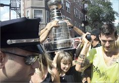 Andrew Ference brings the Cup to the North End, Boston