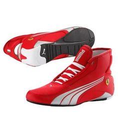 Tenis Puma Alekto Trainers High Tops Ferrari Rosso Corsa Vmj