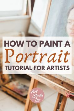 This is really helpful for learning how to paint a portrait for me! I always struggle with how to paint a face - ends up looking wrong a lot... This portrait painting tutorial will help me very… More