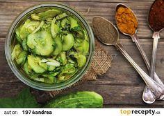 Americké okurky recept - TopRecepty.cz 20 Min, Preserves, Pickles, Sprouts, Paleo, Food And Drink, Vegetables, Preserve, Preserving Food