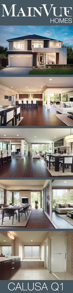 MainVue Homes   Calusa Q1 available in Seattle   It's as if these designs instinctively appear to know what you need and want.