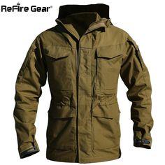 Swift-Buy Casual Tactical Windbreaker Men Winter Autumn Waterproof Flight Pilot Coat Hoodie Military Field Jacket  #me #art #style #follow #class #beautiful #like4like #tbt #photooftheday #womenfashion