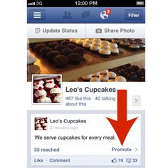 NEW IN #FACEBOOK: Buy Promoted PostS from Page on Mobile. Have you seen this one on your phone yet...yes or no?? 10-9-12