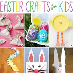 Adorable and fun Easter crafts for kids of all ages!