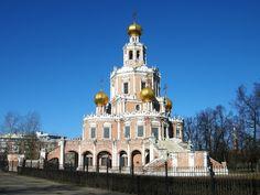 Каталог фотографий: Церковь Покрова Пресвятой Богородицы в Филях
