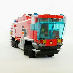 Moc Noageforplay Oshkosh Fire truck inspiration
