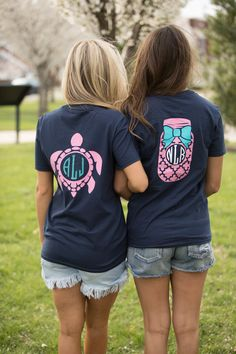 fb41de7a7 12 Best Monogram Pocket Tees images | Monogram pocket tees, Chevron ...