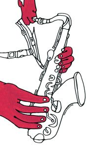 Takao Fujioka's Jazz Art Works