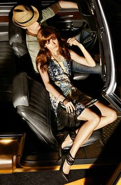 Jac Jagaciak Cruises for Hugo Boss Orange's Spring 2013 Campaign by Dan Martensen