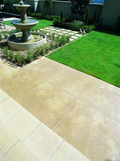 Design Fabulous concrete patio ideas for your backyard Part 10 ; Diy Concrete Patio, Concrete Patio Designs, Diy Patio, Patio Ideas, Backyard Ideas, Garden Ideas, Garden Trellis, Garden Pool, Water Garden