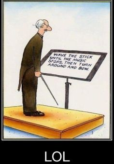 LOL - That's totally what it looks like to me even though I know that they're job is actually pretty complex. #violinhumor