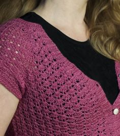 "Free pattern for ""Fine as Findley Cap-sleeve Cardi""!"