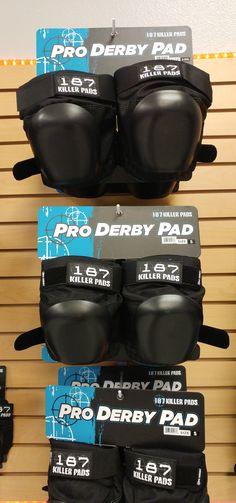 Pro Derby 187 Killer Pads @ California Roller Skates - Huntington Beach