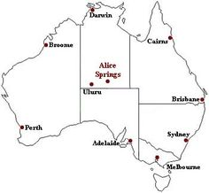 Find any Ayers Rock map: several maps of Uluru - Kata Tjuta National Park, location within Australia, regional and detailed map of Ayers Rock. Alice Springs Australia, Australia Day Celebrations, Melbourne, Sydney, Bearded Dragon Habitat, Australian Desert, Desert Climate, Ayers Rock, Aboriginal Culture