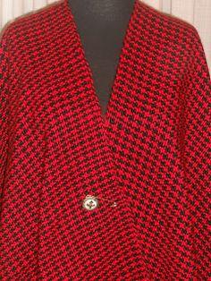 Lola Telares: pie de poule Blazer, Shirt Dress, Stitch, Crochet, Mens Tops, Jackets, Shirts, Dresses, Women
