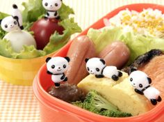 Bento Panda Food Picks