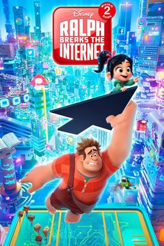 70 images (& sounds) of the Ralph Breaks the Internet: Wreck-It Ralph 2 cast of characters. Photos of the Ralph Breaks the Internet: Wreck-It Ralph 2 (Movie) voice actors. 2018 Movies, New Movies, Disney Movies, Disney Pixar, Movies To Watch, Movies Online, Movies Free, Family Movies, Disney Characters