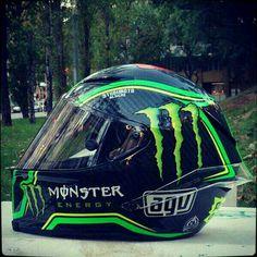 Pol Espargaro new AGV helmet