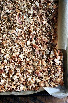 My favorite granola — oats, coconut, almonds, millet