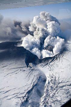 Eyjafjallajokull in action Iceland