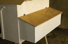How to build chicken nest box