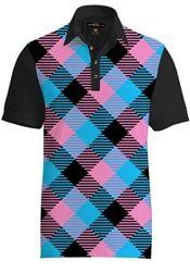 cb90101ba Mens Golfing Shirts   Polos by Loudmouth Golf - Fancy Miami Slice Shirt