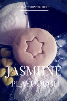 Squiggles and Bubbles: Invitation To Create: Jasmine Tea Playdough