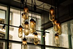 Wall Lights - Using Lighting in Interior Design When we are considering the decoration of our homes, it can be easy to get inspiration for color schemes, furnit Nordic By Nature, Long Light Bulbs, Living Room Modern, Living Room Decor, Mason Jar Lamp, Picture Design, Decoration, Retro, Interior Design