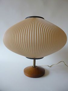 Mid-Century Modern TABLE / Bedside LAMP Danish Modern Retro Le Klint era 50s 60s