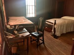 Inside Randolph House at Colonial Williamsburg