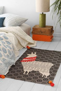 Magical Thinking Regalo Rug - Urban Outfitters. Hang that on the wall!