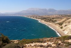 Kommos Beach, Crete. Wonderful beach, awesome holiday. Oct 2014.