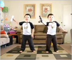 Garcia Twins Dance to 'Hey Ya'
