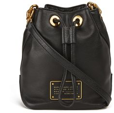 Marc by Marc Jacobs Women's Too Hot To Handle Drawstring Bag Black