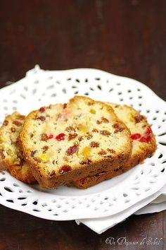 Un dejeuner de soleil: Cake aux fruits confits de Gérard Mulot (et son se...