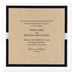 Dauphine eInvite Wedding Wedding Invitations Traditional