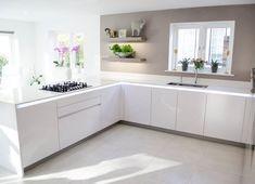 White kitchen cabinets & ideas | View our modern white kitchen units & designs at LEICHT