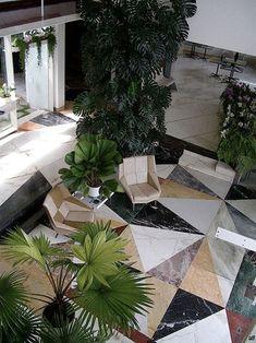 "roomonfiredesign: "" Villa Planchart by Italian architect Gio Ponti - Caracas, Venezuela, 1956. """
