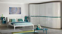 Купить итальянскую спальню в стиле модерн в Москве