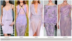Lavender one of Our Top Runway Fashion Colours For Spring Summer 2015