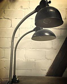 """Kaiser Idell, desk lamp - Schreibtischlampe """"Lot 9"""""""