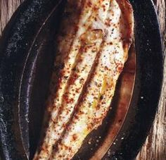 "Grilled Redfish ""On the Half-Shell"""