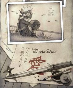 kejablank: Dearest Kakashi … After a long time... | Make a guess