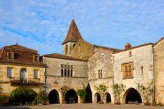 Montpazier , Perigord . South France
