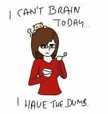 Migraine brain and brain fog is awful