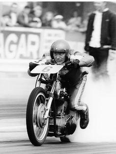 Retro drag bike