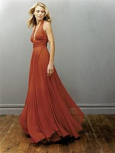 I have no idea where you would wear this dress, but it is really pretty!