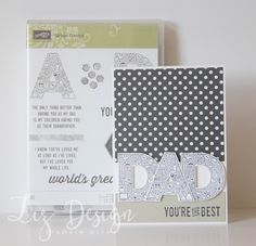 Stampin with Liz Design Urban District Stampin Up Male Card