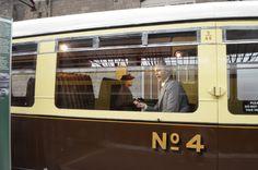 Swindon Steam Museum: Diesel car No. 4.  Passenger car